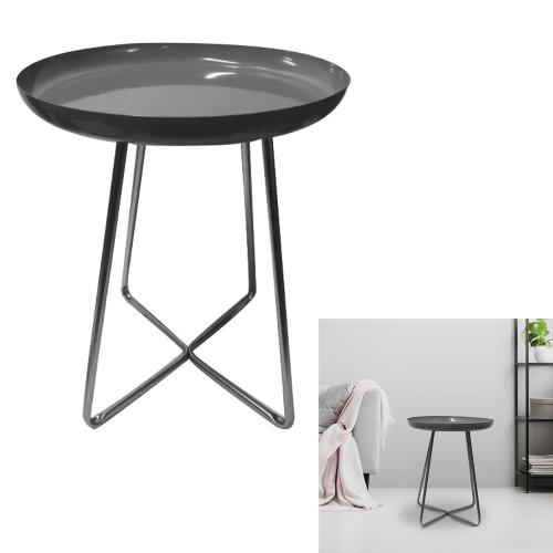 3S. x Home - Table d'appoint Noire HARLOW - Table basse