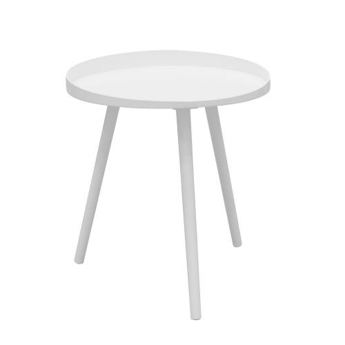 3S. x Home - Table basse D48cm Blanche - Table basse