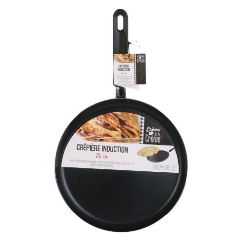 3S. x Home - Creperie induction noire 26cm FORD
