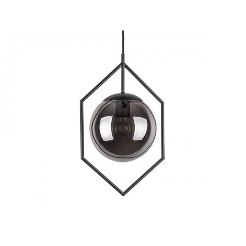 3S. x Home - Suspension DIAMANTI - Verre gris foncé - Suspension