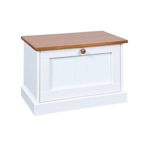 3S. x Home - Table de Chevet en Pin massif - Table de chevet