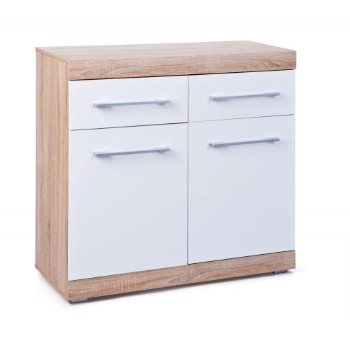 3S. x Home - Commode Blanche DALAI - Commode