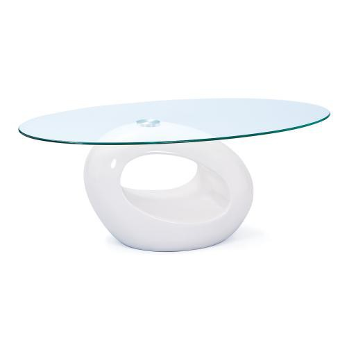 3S. x Home - Table Basse en Verre - Table basse