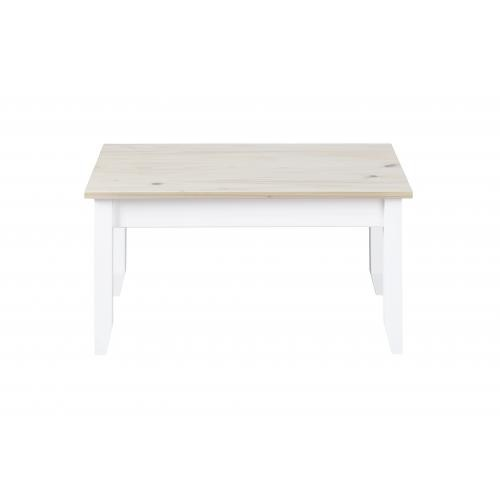 3S. x Home - Table Basse en Pin massif LEPOS - Table basse