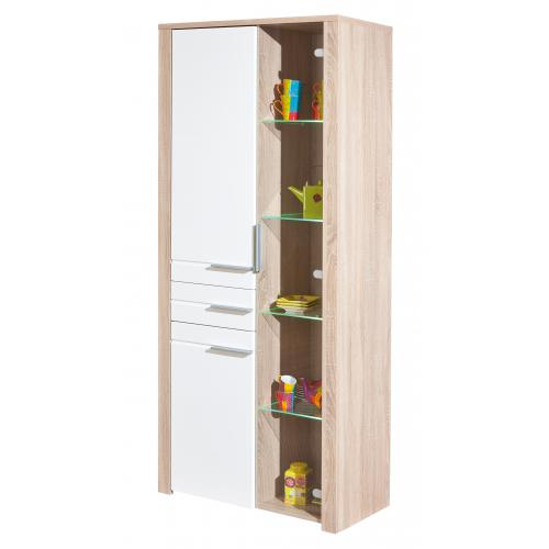 3S. x Home - Vitrine 3 portes BURIL - Dressing & rangement
