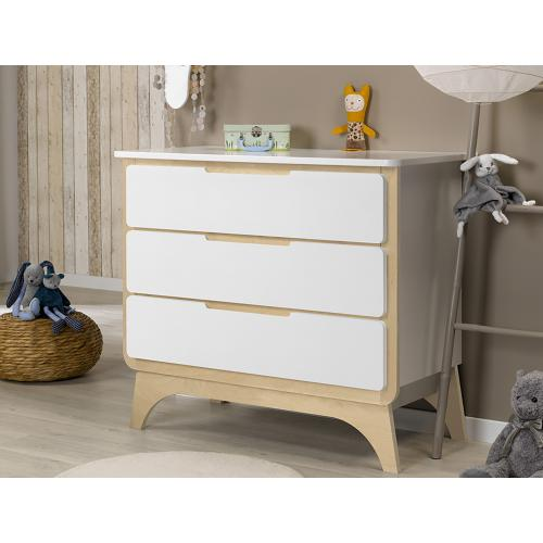 3S. x Home - Commode BONHEUR 3 tiroirs - Meuble deco made in france