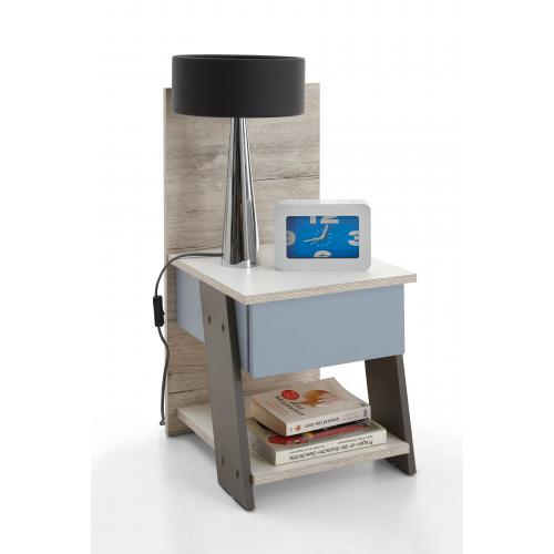 3S. x Home - Table de chevet SOLIK - Table de chevet
