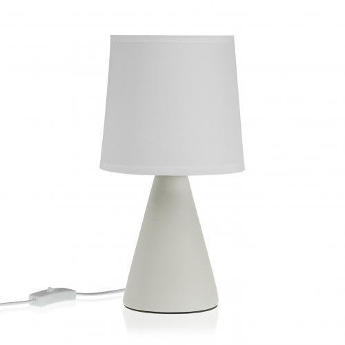 3S. x Home - Lampe de Table Blanche VELIS - Lampe