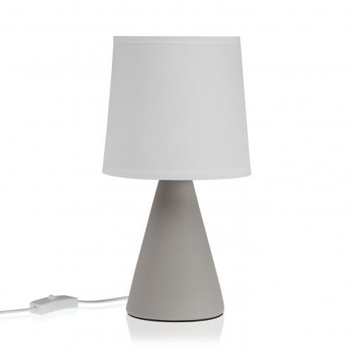 3S. x Home - Lampe de Table Gris VELIS - Lampe