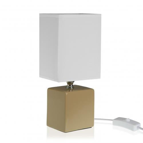 3S. x Home -  Lampe de table Beige SIERRA - Lampe