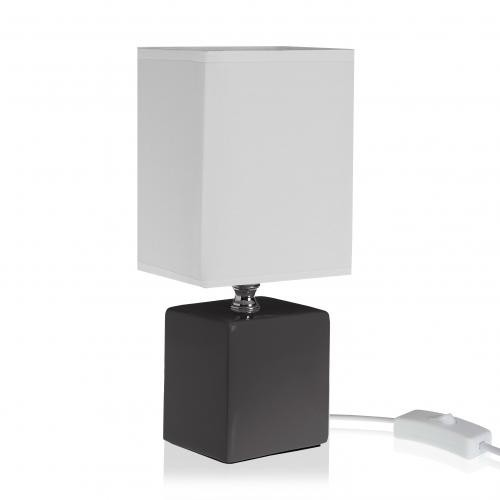3S. x Home - Lampe de table Noir SIERRA - Lampe