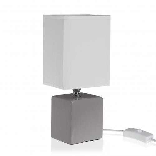 3S. x Home - Lampe de table gris SIERRA - Lampe