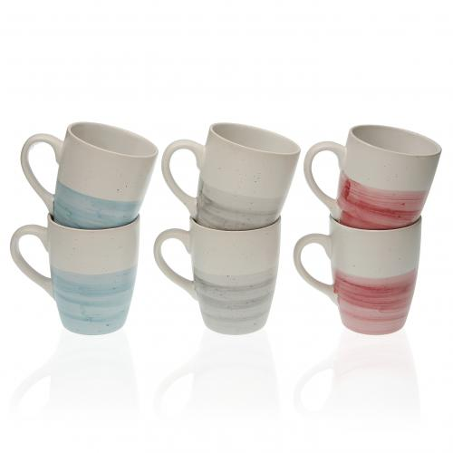 3S. x Home - Set de 6 Tasses OUNDIA - Arts de la table