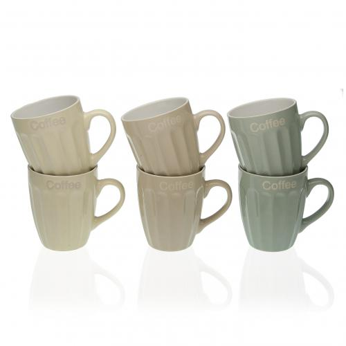 3S. x Home - Set de 6 Tasses BIRO - Arts de la table