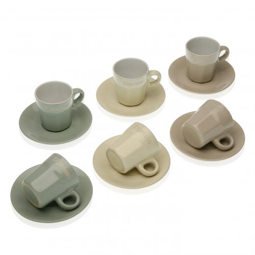 3S. x Home - Set de 6 Tasses LEMI - Arts de la table