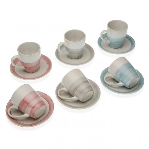 3S. x Home - Set de 6 Tasses ANIL - Arts de la table