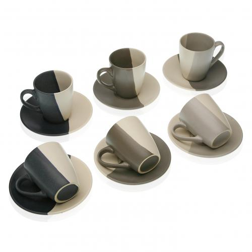 3S. x Home - Set de 6 Tasses CORI - Arts de la table