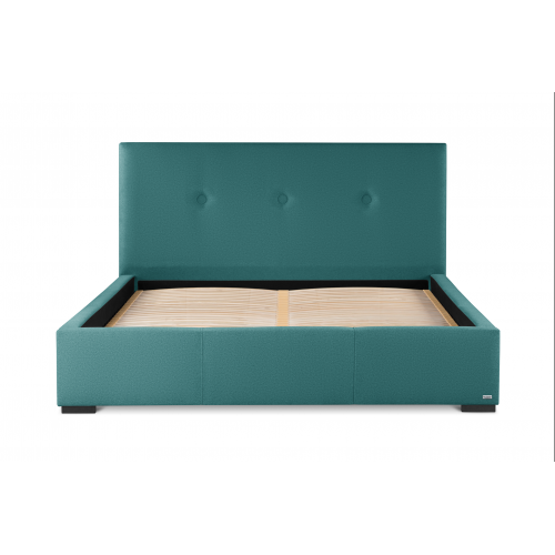 Guy Laroche - Lit Coffre turquoise MALINA - Soldes mobilier déco