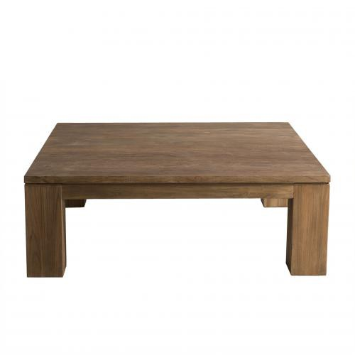 Macabane - Table basse bois 100 x 100 cm - NASAI - Table basse