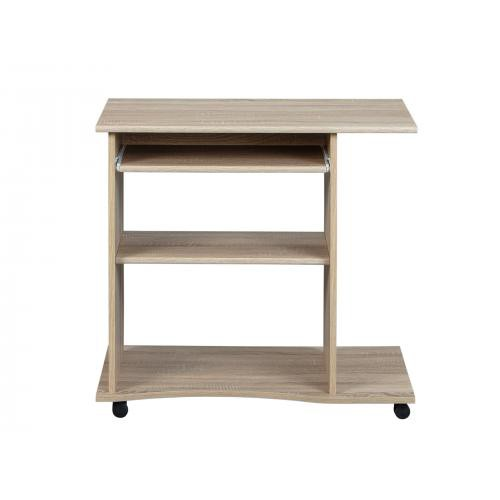 3S. x Home - Bureau compact marron DURAS - Dressing & rangement