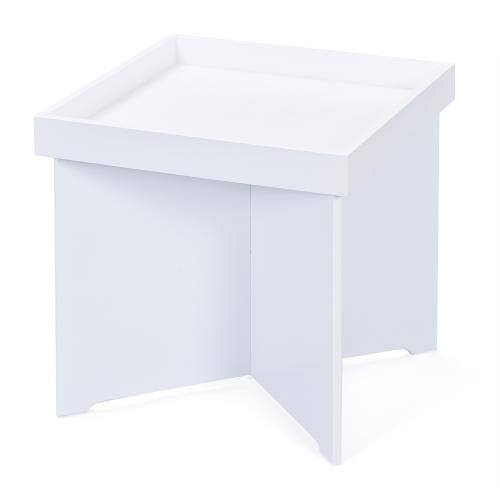 3S. x Home - table d'appoint blanc EROA - Table basse