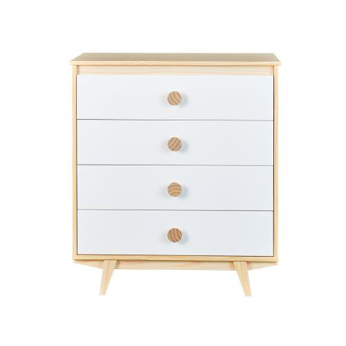 3S. x Home -  Commode 4 tiroirs WILLA - Dressing & rangement