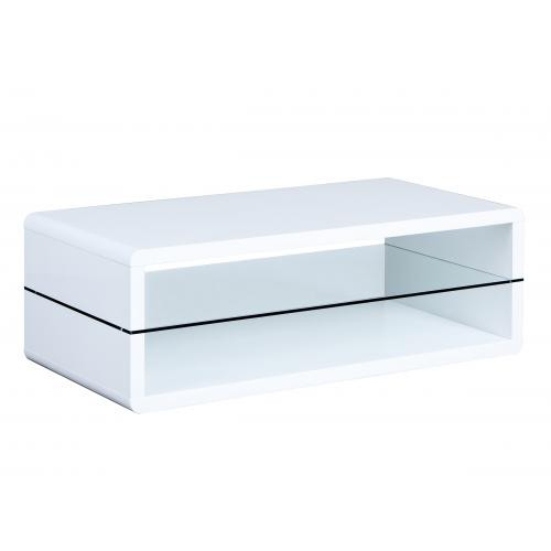 3S. x Home - Table basse blanc EXON - Table basse