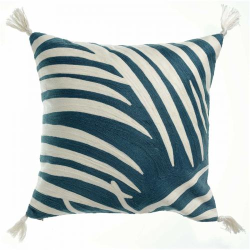 3S. x Home - Coussin Coton Anika Riviera - Coussins