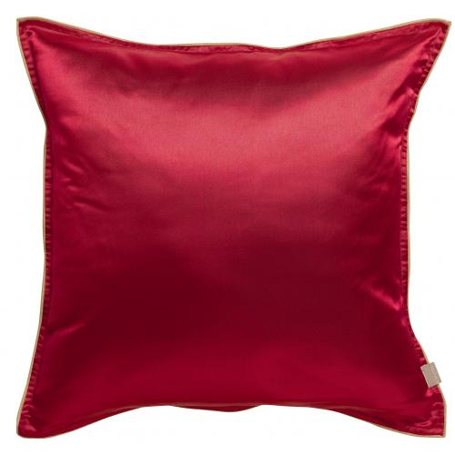 3S. x Home - Coussin rouge Charly Rubis - Coussins