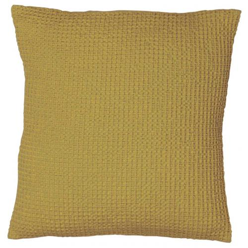 3S. x Home - Coussin coton Maia Vert Badiane - Coussins