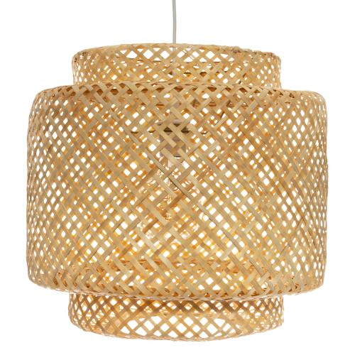 3S. x Home -  Suspension en Bambou Naturel PAARL - Collection ethnique meuble deco