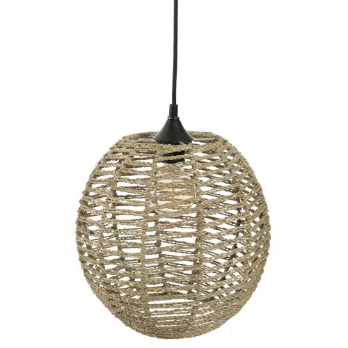 3S. x Home - Suspension en Rotin Boule Naturel REINA - La déco