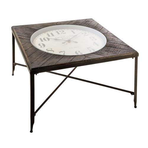 3S. x Home - Table Basse Gris HORLO - Table basse