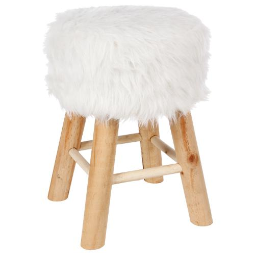 3S. x Home - Tabouret Blanc FONCIA - Tabouret