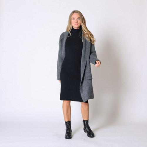 Cherry Paris - Manteau en maille - Promos vêtements femme