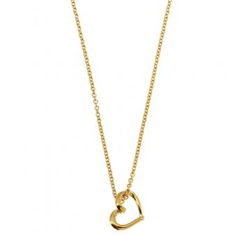 Passeport Pour L'Or - Collier Unchained my heart plaqué Or - Bijoux femme