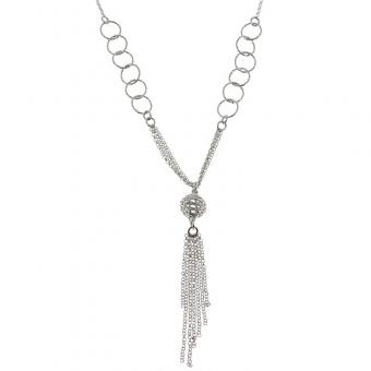 925 Milliemes De Folie - Collier shine and chains en Argent rhodié - Bijoux femme