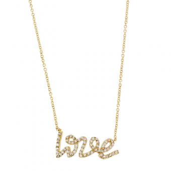 Passeport Pour L'Or - Collier Love and shine plaqué Or - Bijoux femme
