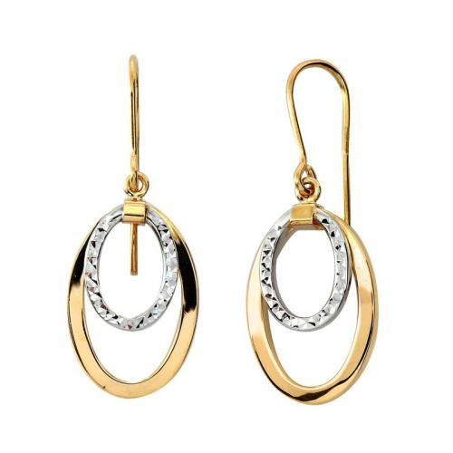 Or 9 Carats - Boucles d'oreille Ola - Promotions