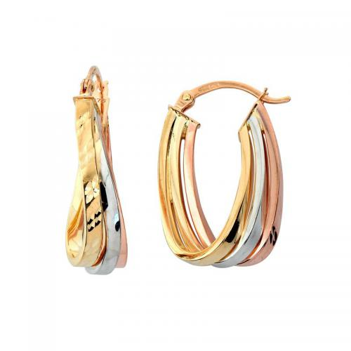 Or 9 Carats - Boucles d'oreille Loop - Promotions