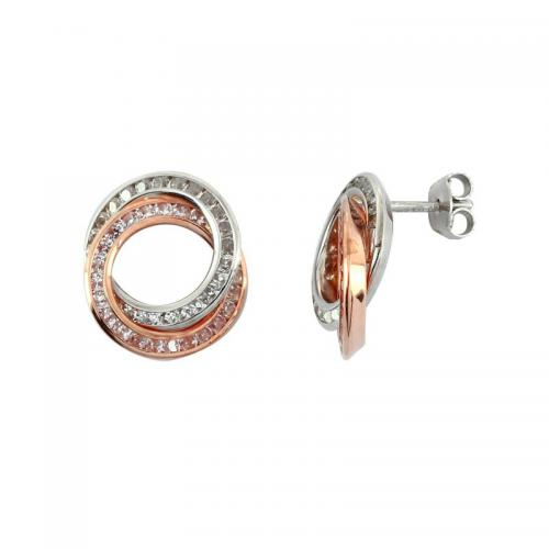 Or 9 Carats - Boucles d'oreille Duo - Promotions