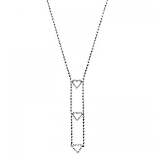 Or 9 Carats - Collier 3 petits coeurs - Bijoux