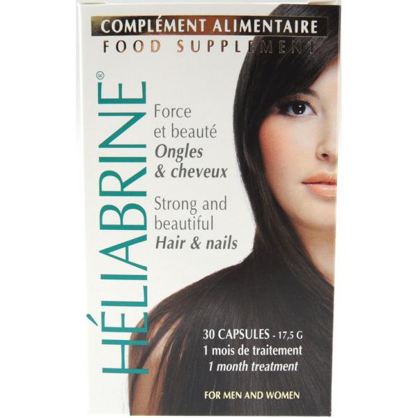 CAPSULES COMPLEMENT ALIMENTAIRE ONGLES & CHEVEUX - Carence alimentaires-Heliabrine Heliabrine Femme