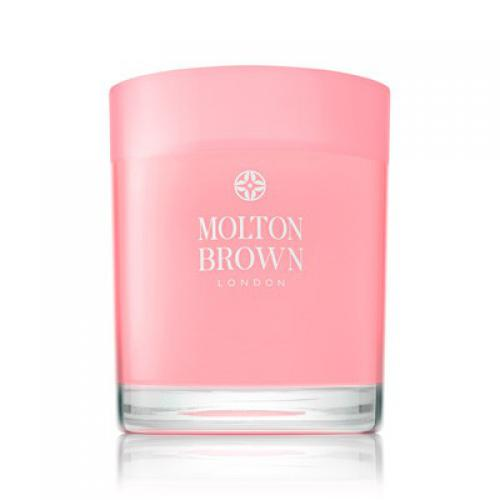 Molton Brown - Bougie Rhubarbe & Rose - Beauté