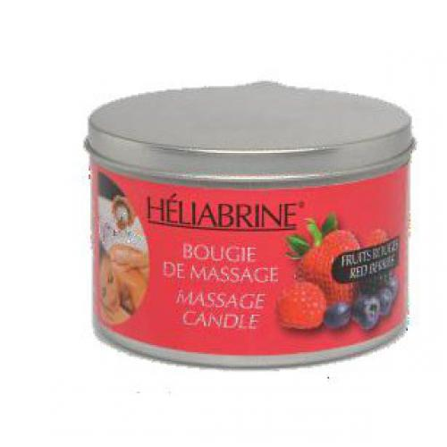 Heliabrine - BOUGIE DE MASSAGE FRUITS ROUGES - Bien-être