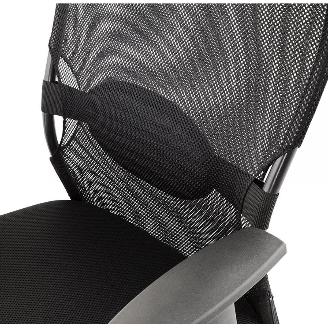 Chaise De Bureau Design Noir Previet