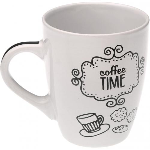 3S. x Home - Mug café blanche MAGGY - Arts de la table
