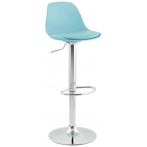 3S. x Home - Tabouret de bar design DIAMS bleu - Tabouret de bar