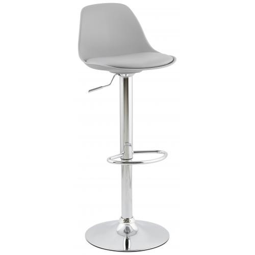 3S. x Home - Tabouret de bar design DIAMS gris - Tabouret de bar