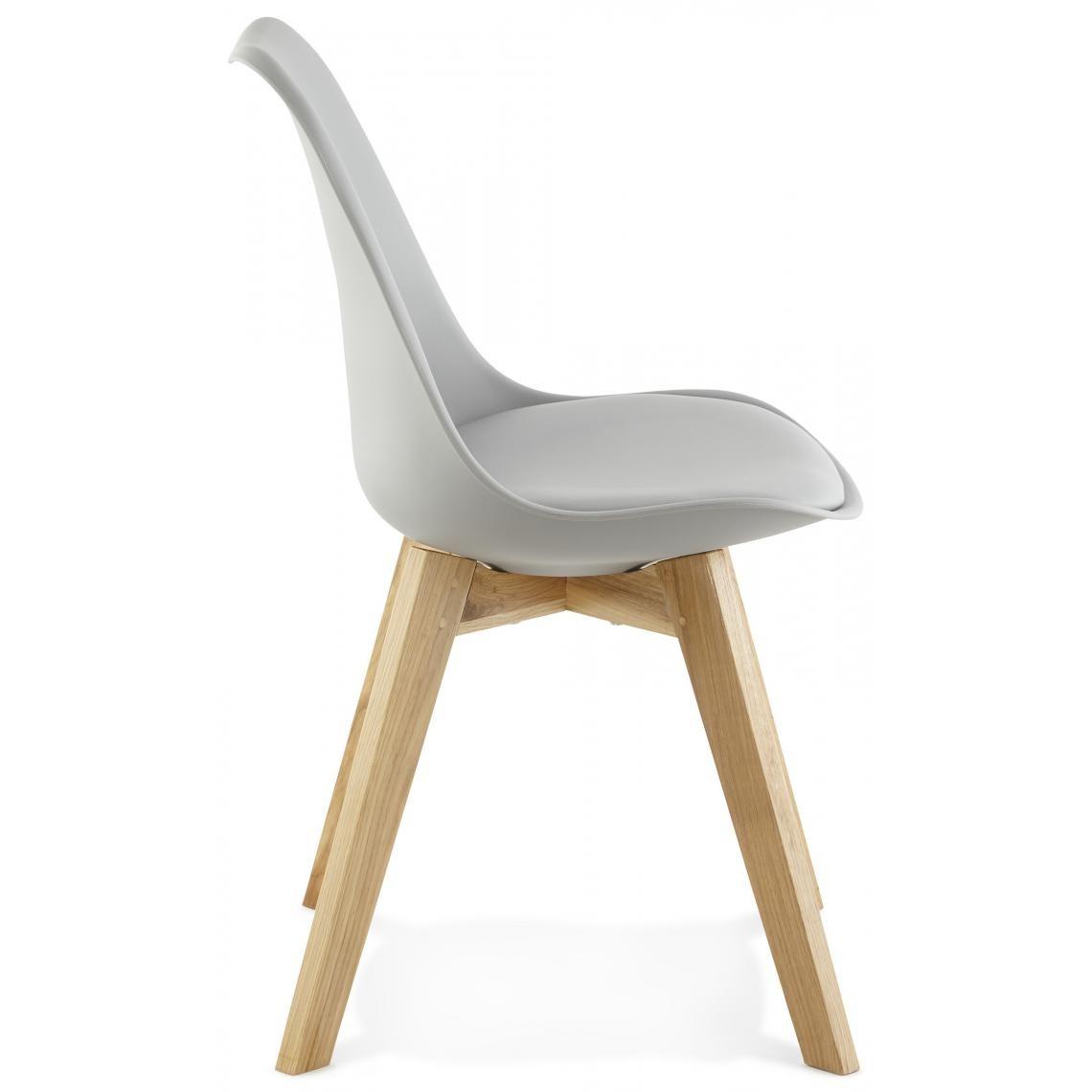 Fauteuil Gris Caral3 Simili Design Suisses En CxdeoBr